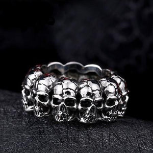 United Skulls Biker Rings (size 7-12) - Shopy Bay