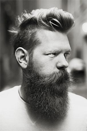 A headshot of Beardbrand Founder, Eric Bandholz.