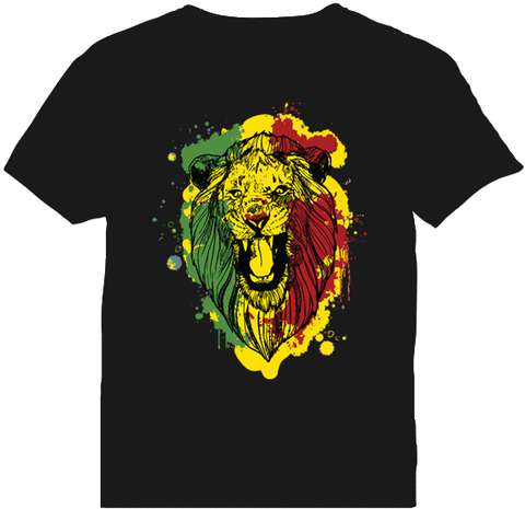 Christafari Lion T-Shirt by Kaka