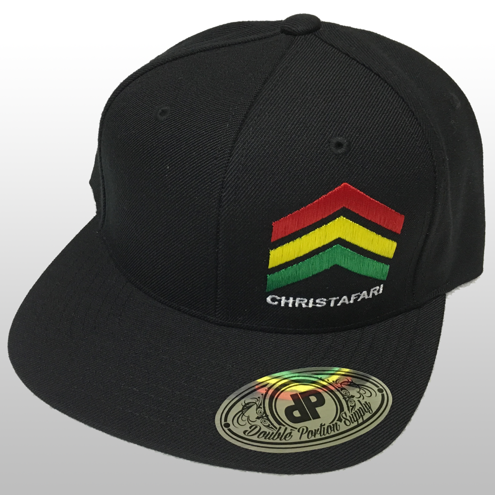 [Snapback Hat]: BLACK - Christafari Anthems