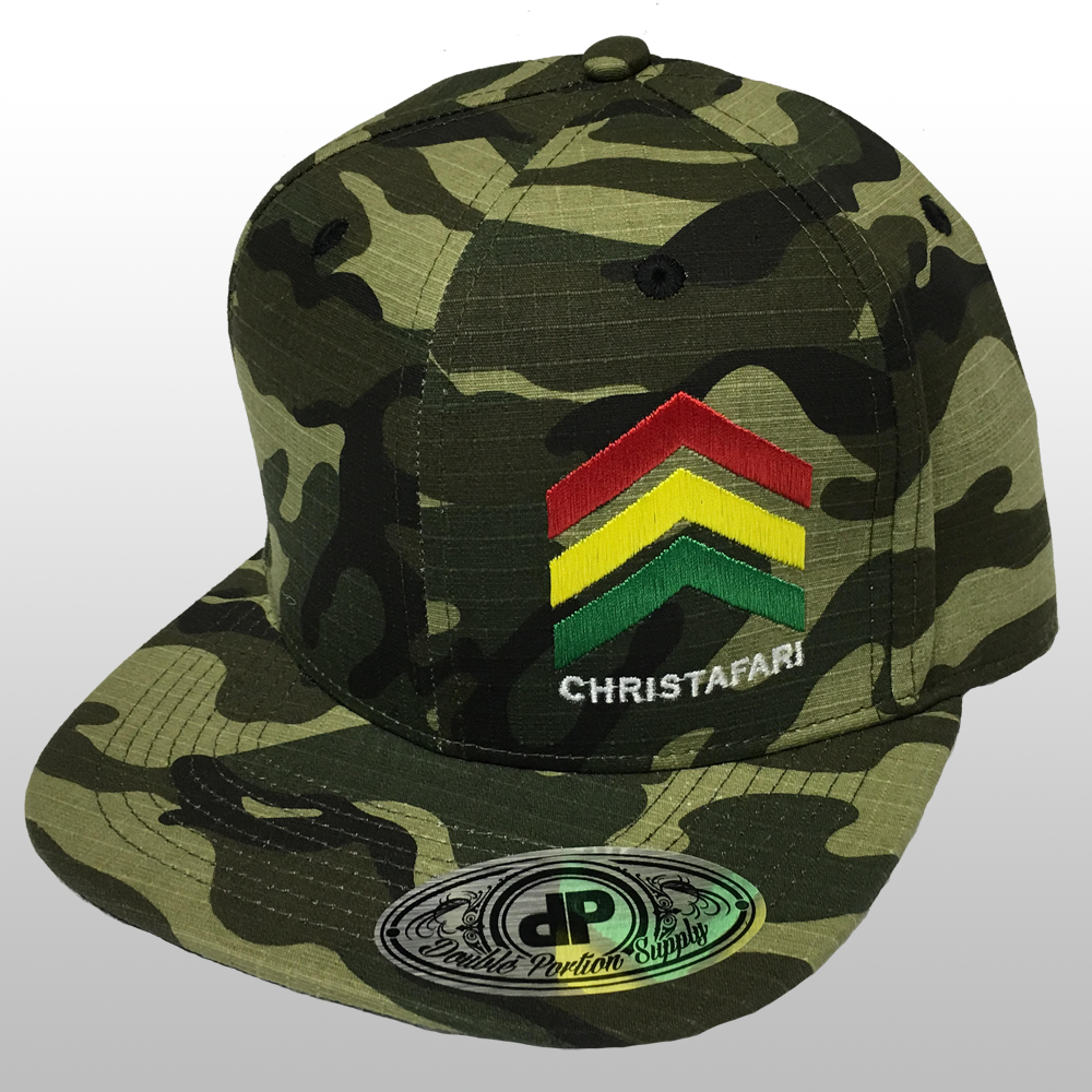 [Snapback Hat]: CAMMO - Christafari Anthems