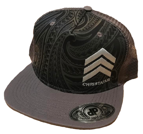 [Snapback Hat]: Grey - Christafari Polynesian Anthems