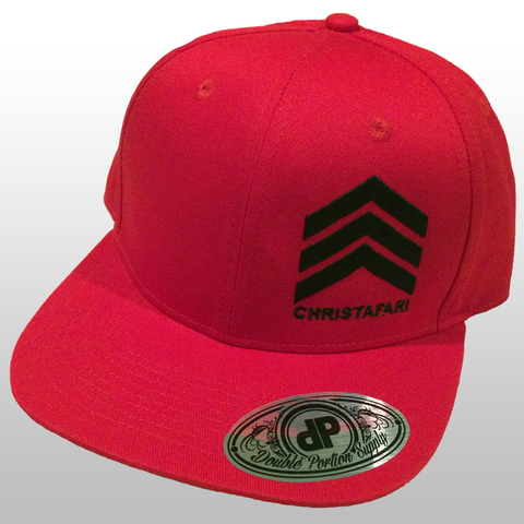 [Snapback Hat]: RED - Christafari Anthems