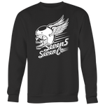 Flying Skull Crewneck Sweatshirt
