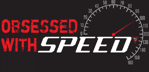 Obsessed with Speed - Sticker