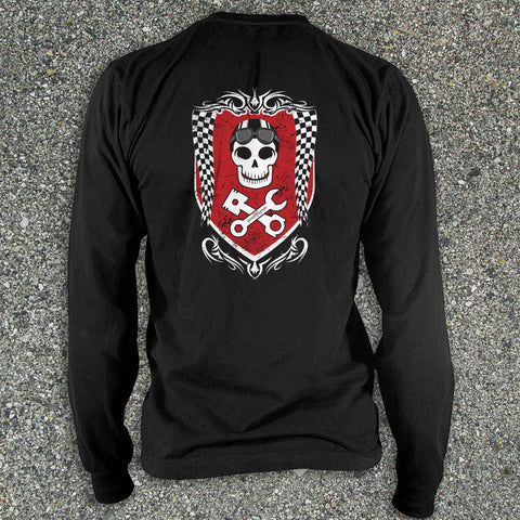 Skull Mechanics - Long Sleeve