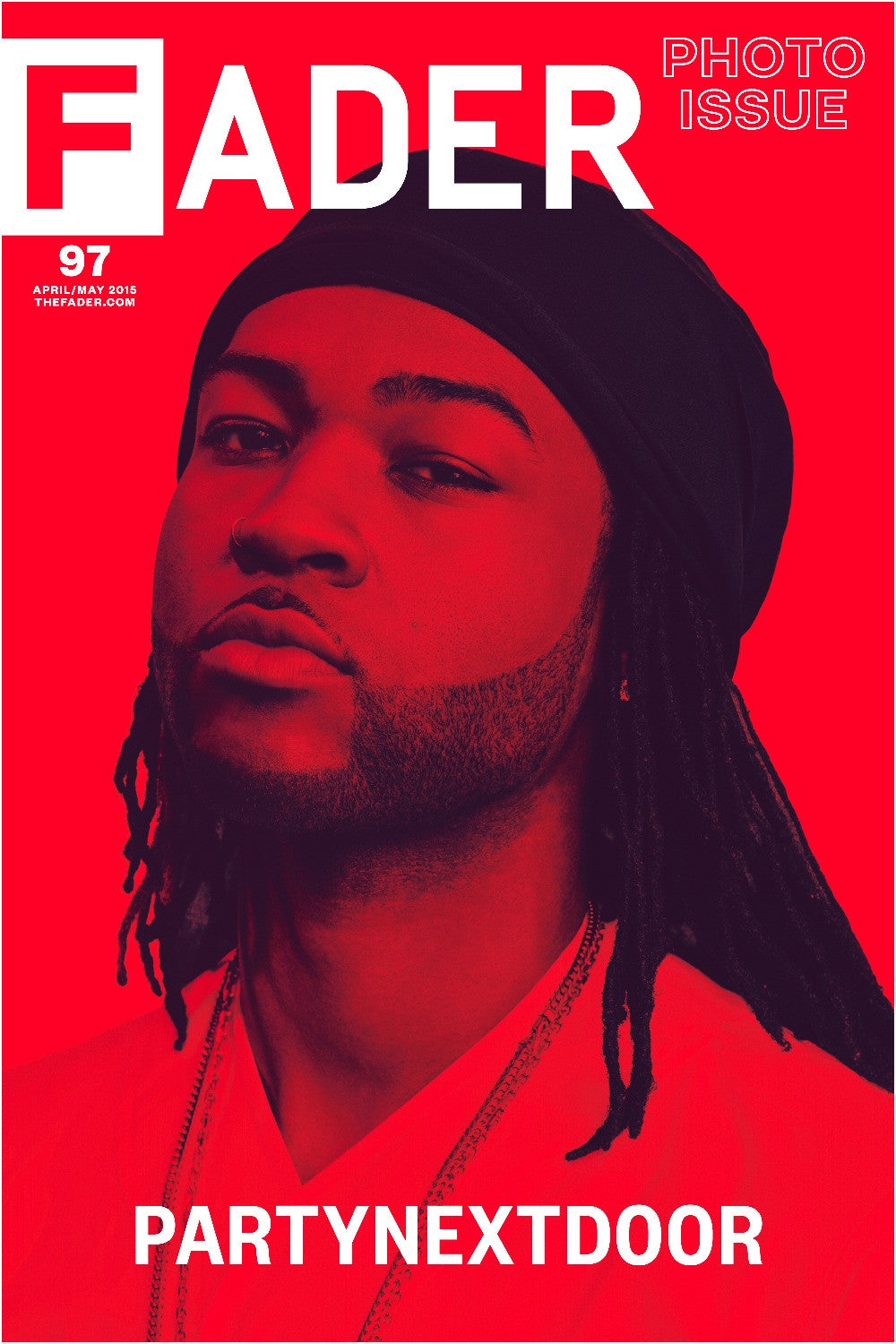 "PARTYNEXTDOOR / The FADER Issue 97 Cover 20"" x 30"" Poster - The FADER"