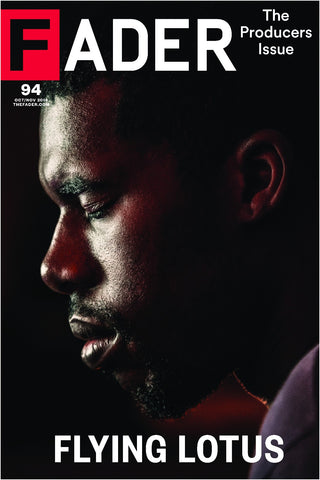 "Flying Lotus / The FADER Issue 94 Cover 20"" x 30"" Poster - The FADER"