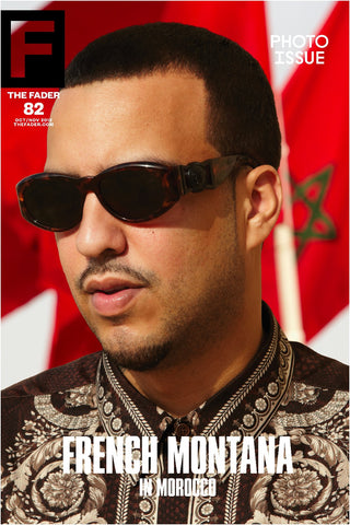 "French Montana / The FADER Issue 82 Cover 20"" x 30"" Poster - The FADER"
