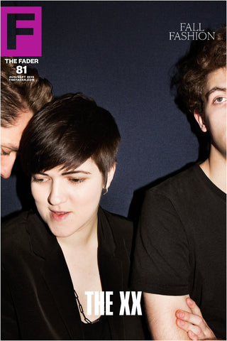 "The xx / The FADER Issue 81 Cover 20"" x 30"" Poster - The FADER"