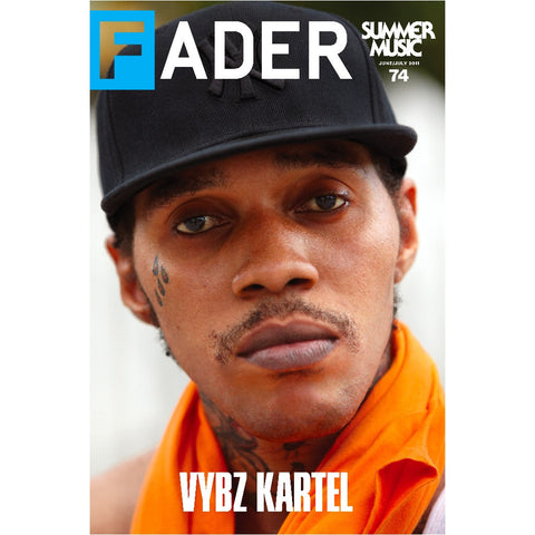 "Vybz Kartel / The FADER Issue 74 Cover 20"" x 30"" Poster - The FADER"