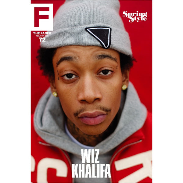 "Wiz Khalifa / The FADER Issue 72 Cover 20"" x 30"" Poster - The FADER"
