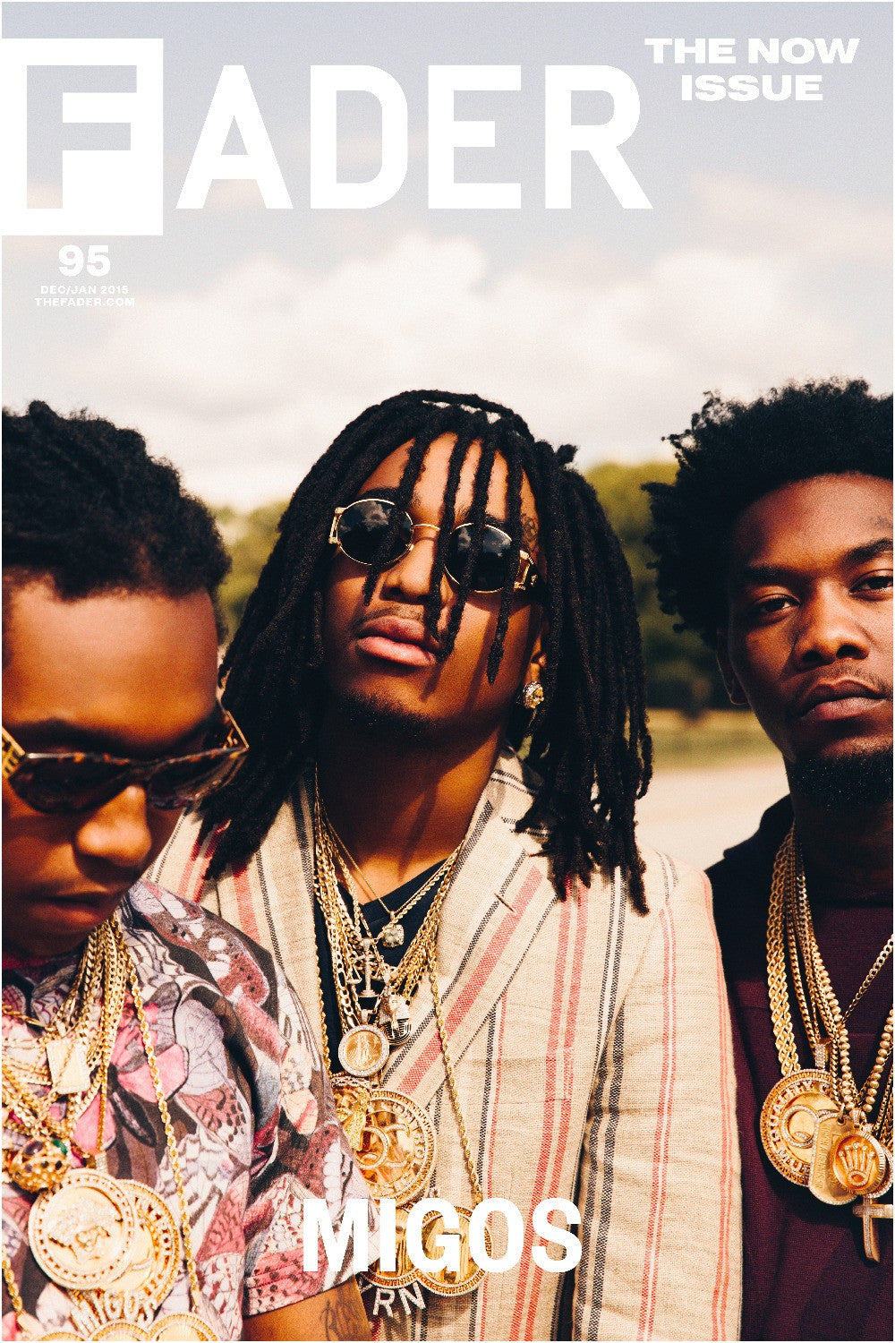 "Migos / The FADER Issue 95 Cover 20"" x 30"" Poster - The FADER"