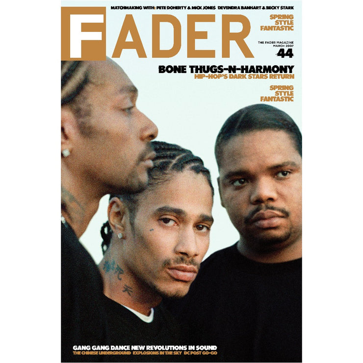 "Bone Thugs-N-Harmony / The FADER Issue 44 Cover 20"" x 30"" Poster"