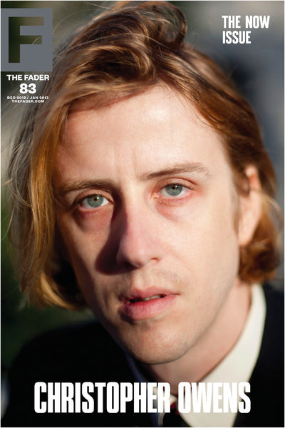 "Christopher Owens / The FADER Issue 83 Cover 20"" x 30"" Poster - The FADER"
