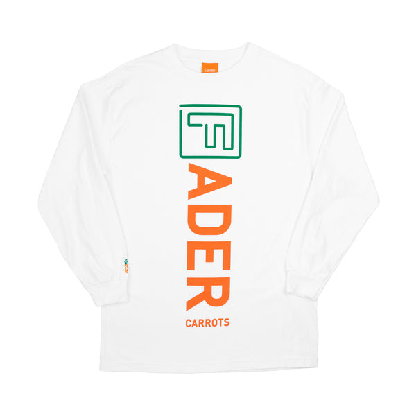 The FADER x Carrots Long Sleeve Shirt (White) - The FADER  - 1