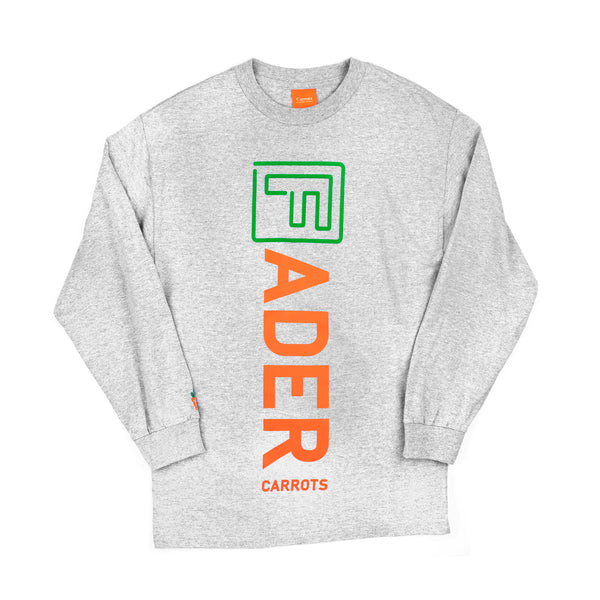 The FADER x Carrots Long Sleeve Shirt (Gray) - The FADER  - 1