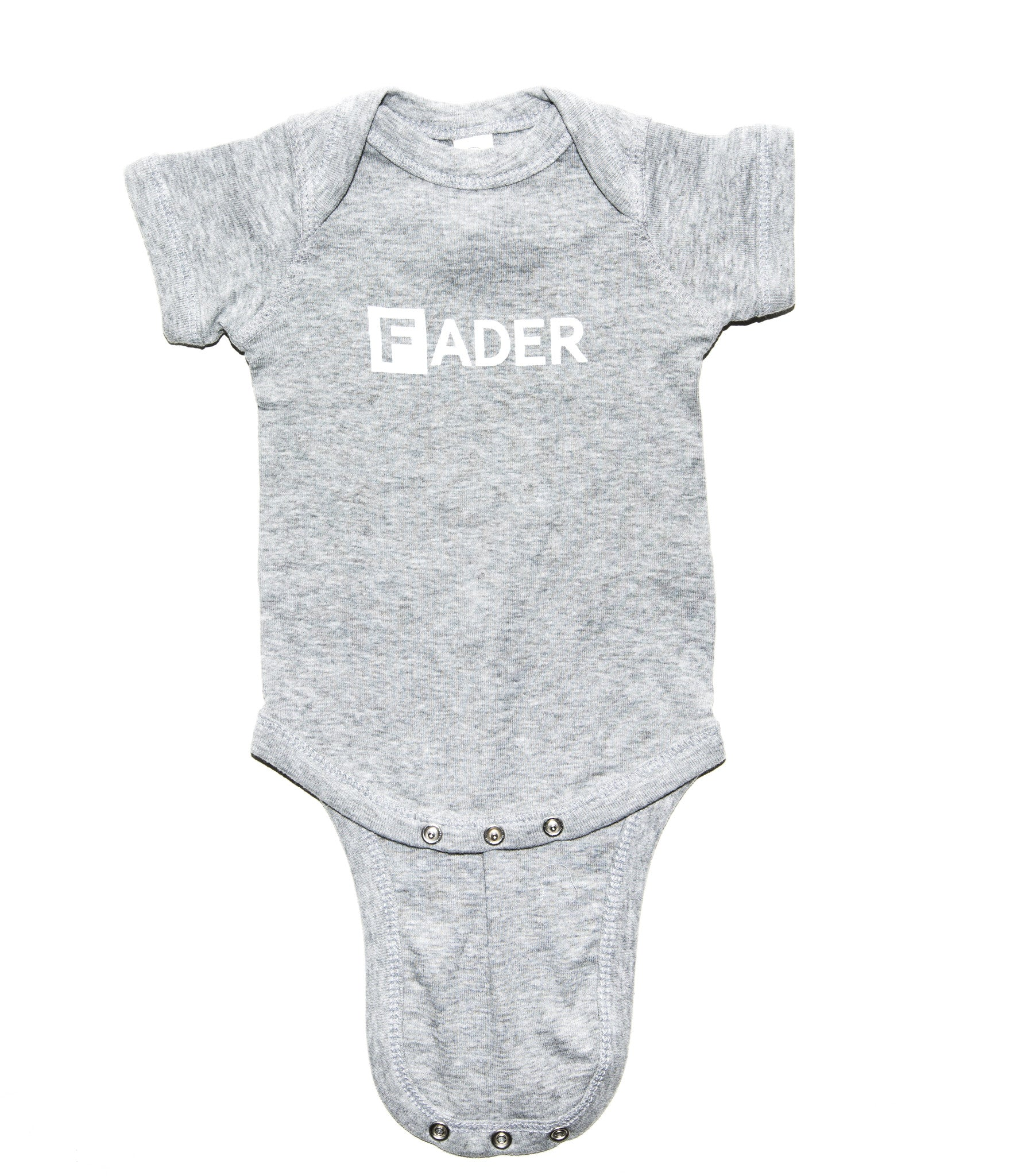 The FADER Baby Onesie (Grey) - The FADER