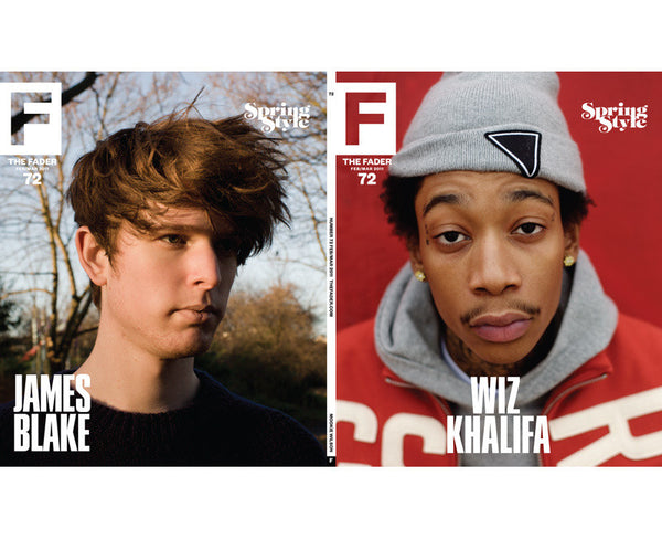 Issue 072: Wiz Khalifa / James Blake - The FADER