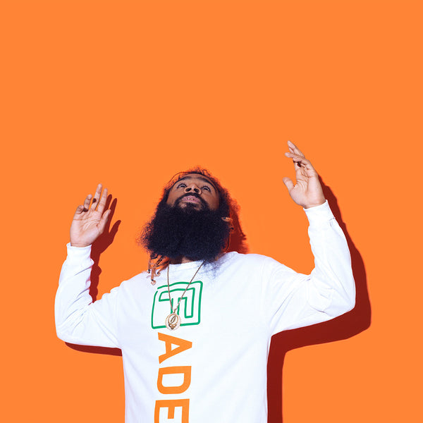 The FADER x Carrots Long Sleeve Shirt (White) - The FADER  - 2