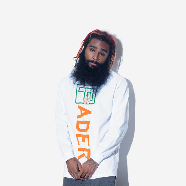 The FADER x Carrots Long Sleeve Shirt (White) - The FADER  - 3