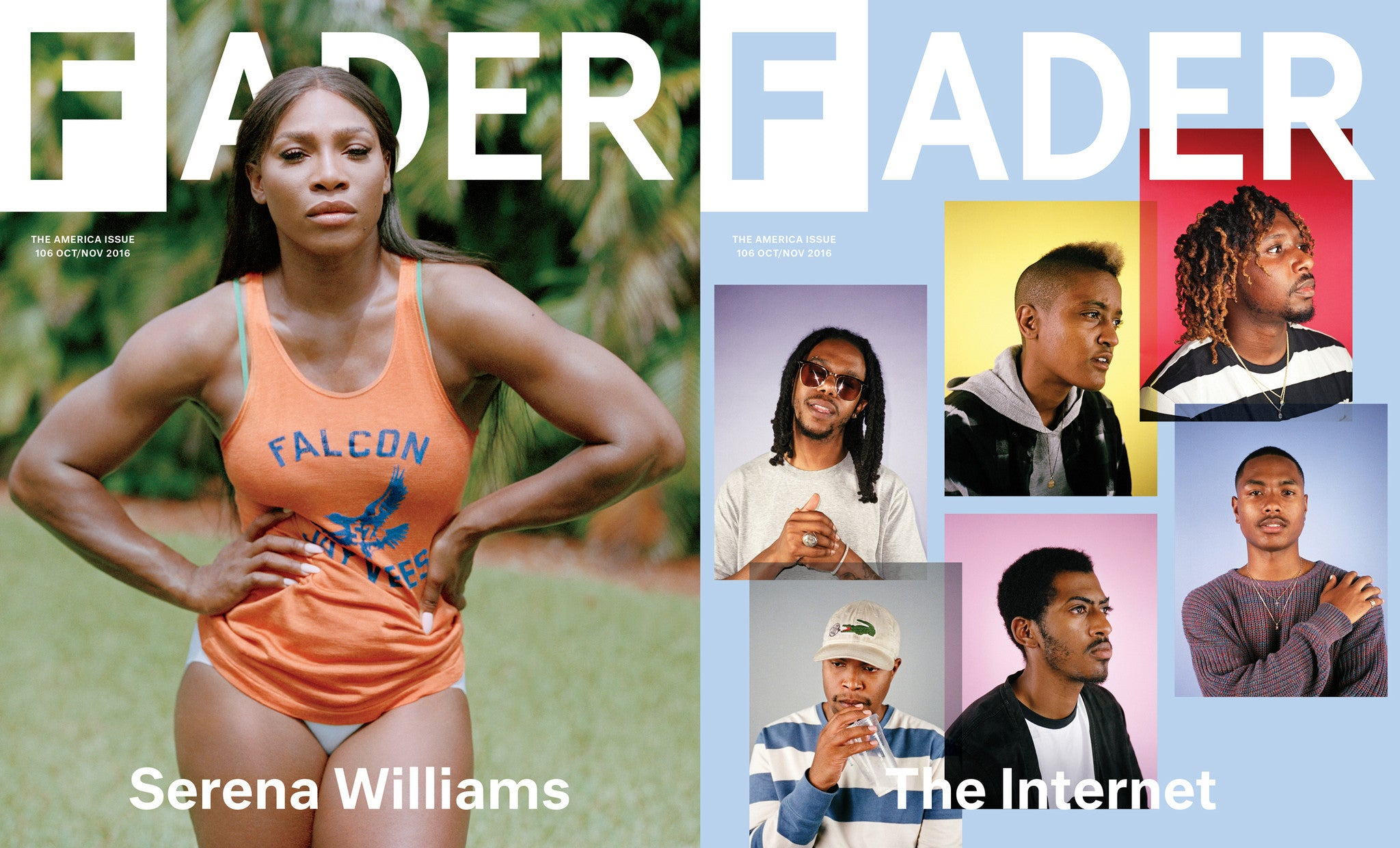 Issue 106: Serena Williams / The Internet - The FADER  - 1