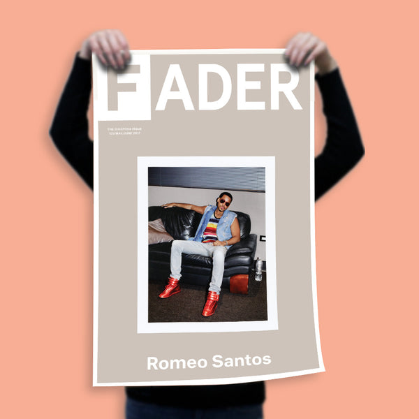 "Romeo Santos / The FADER Issue 109 Cover 20"" x 30"" Poster"