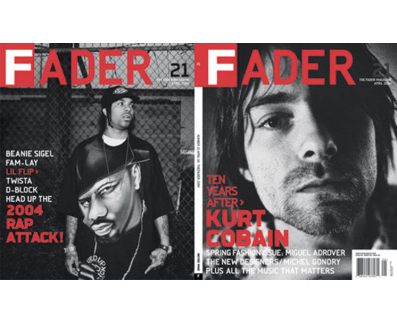 Issue 021: Kurt Cobain / Beanie Sigel - The FADER