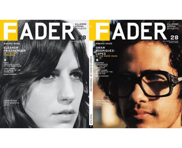 Issue 028: Omar Rodriguez-Lopez / Eleanor Friedberger - The FADER