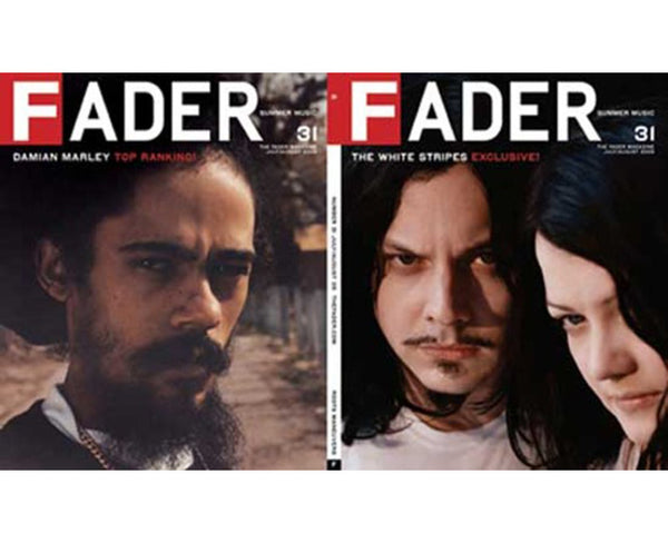 Issue 031: The White Stripes / Damian Marley - The FADER