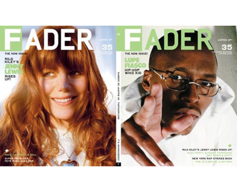 Issue 035: Lupe Fiasco / Jenny Lewis - The FADER