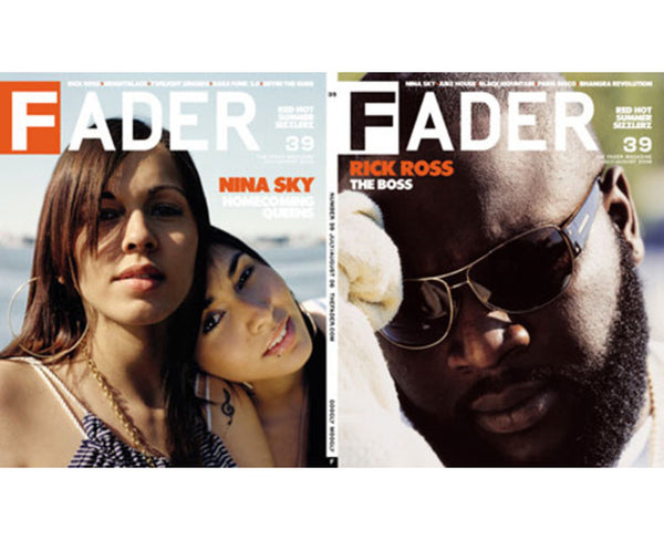 Issue 039: Rick Ross / Nina Sky - The FADER