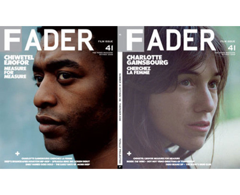 Issue 41: Charlotte Gainsbourg / Chiwetel Ejiofor