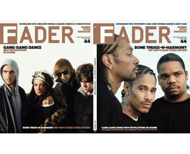 Issue 044: Bone Thugs N Harmony / Gang Gang Dance - The FADER