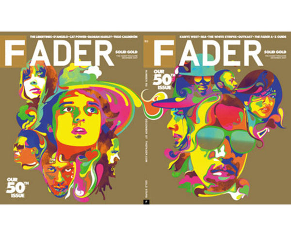 Issue 050: Special 50th Issue Anniversary - The FADER