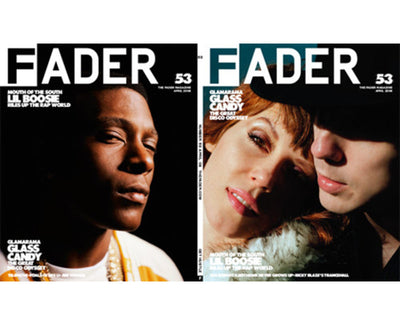 Issue 053: Glass Candy / Lil Boosie - The FADER