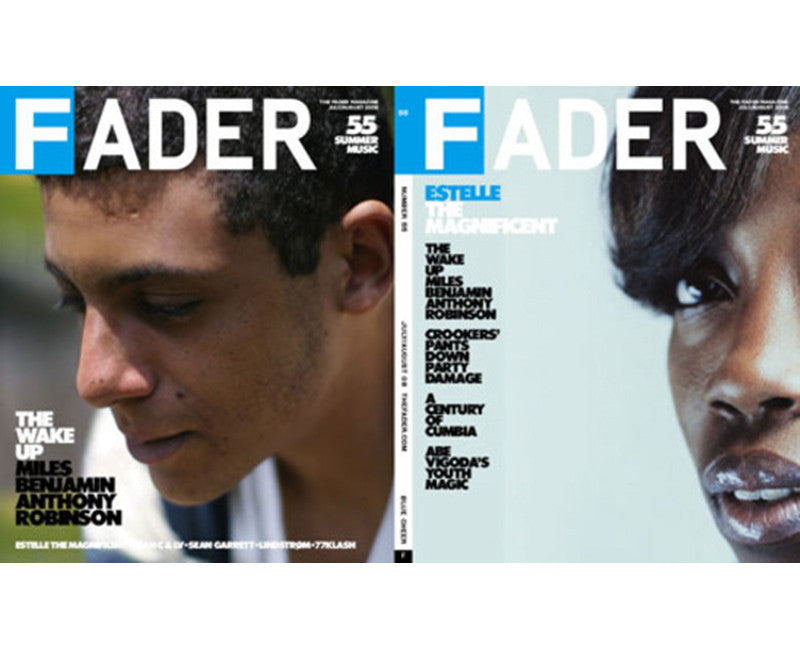 Issue 055: Estelle / Miles Benjamin Anthony Robinson - The FADER