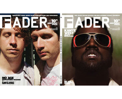 Issue 058: Kanye West / No Age - The FADER