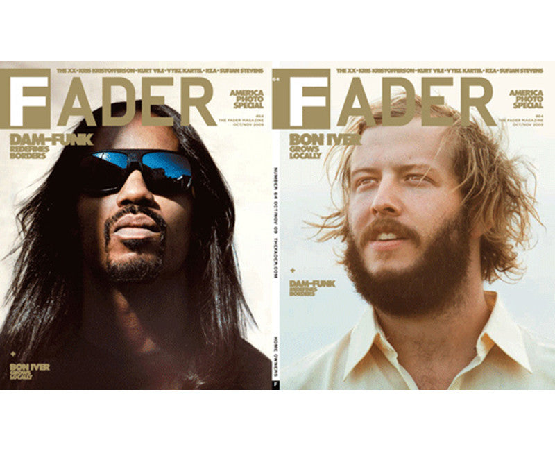 Issue 064: Bon Iver / Dam-Funk - The FADER
