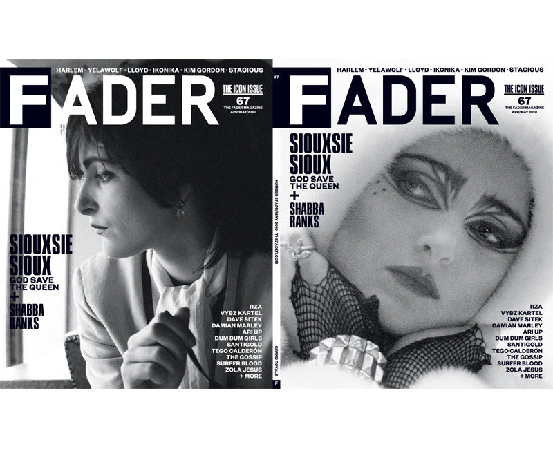 Issue 067: Shabba Ranks / Siouxsie Sioux - The FADER  - 2