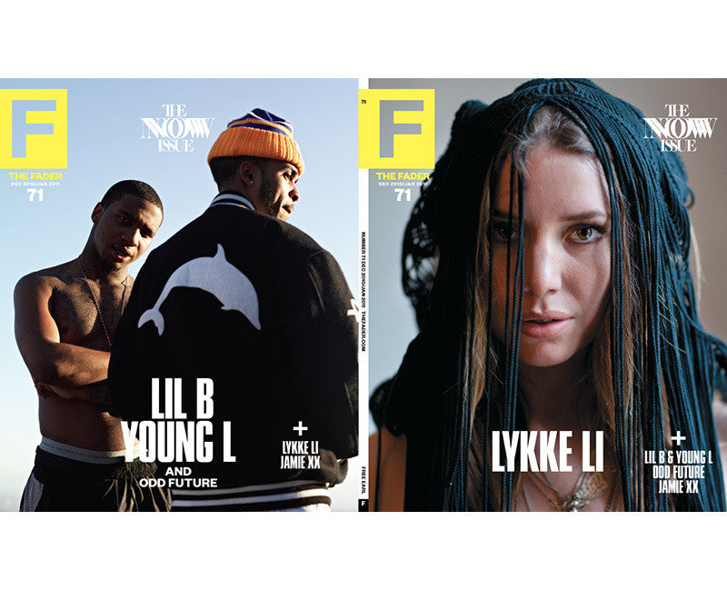 Issue 071: Lykke Li / Lil B / Young L / Odd Future - The FADER