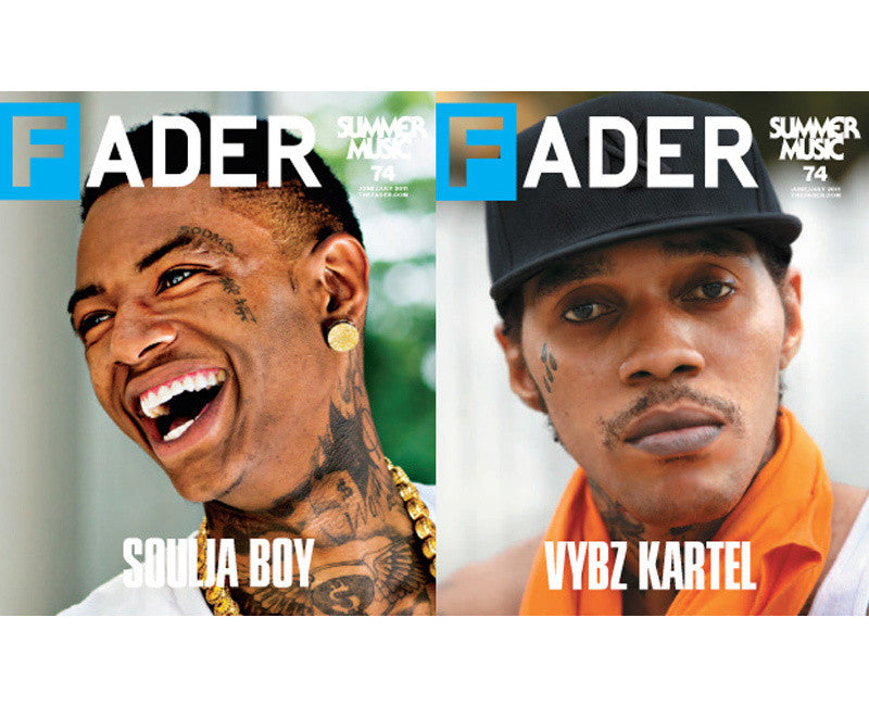 Issue 074: Soulja Boy / Vybz Kartel - The FADER