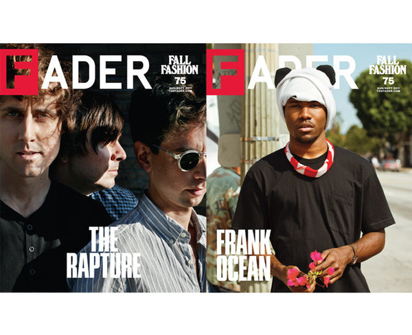 Issue 075: Frank Ocean / The Rapture - The FADER