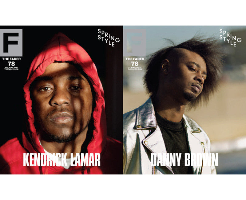 Issue 078: Kendrick Lamar / Danny Brown - The FADER