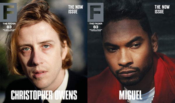 Issue 083: Miguel / Christoper Owens - The FADER