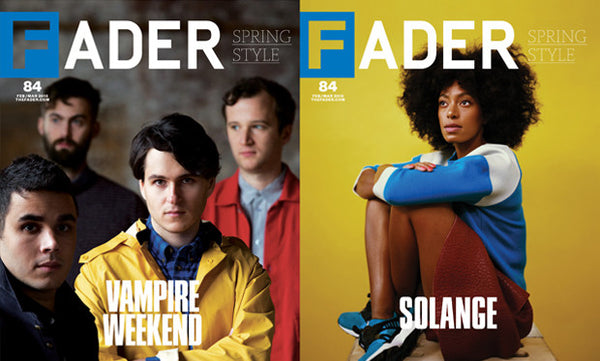 Issue 084: Solange / Vampire Weekend - The FADER