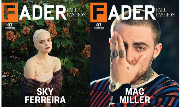 Issue 087: Mac Miller / Sky Ferreira - The FADER