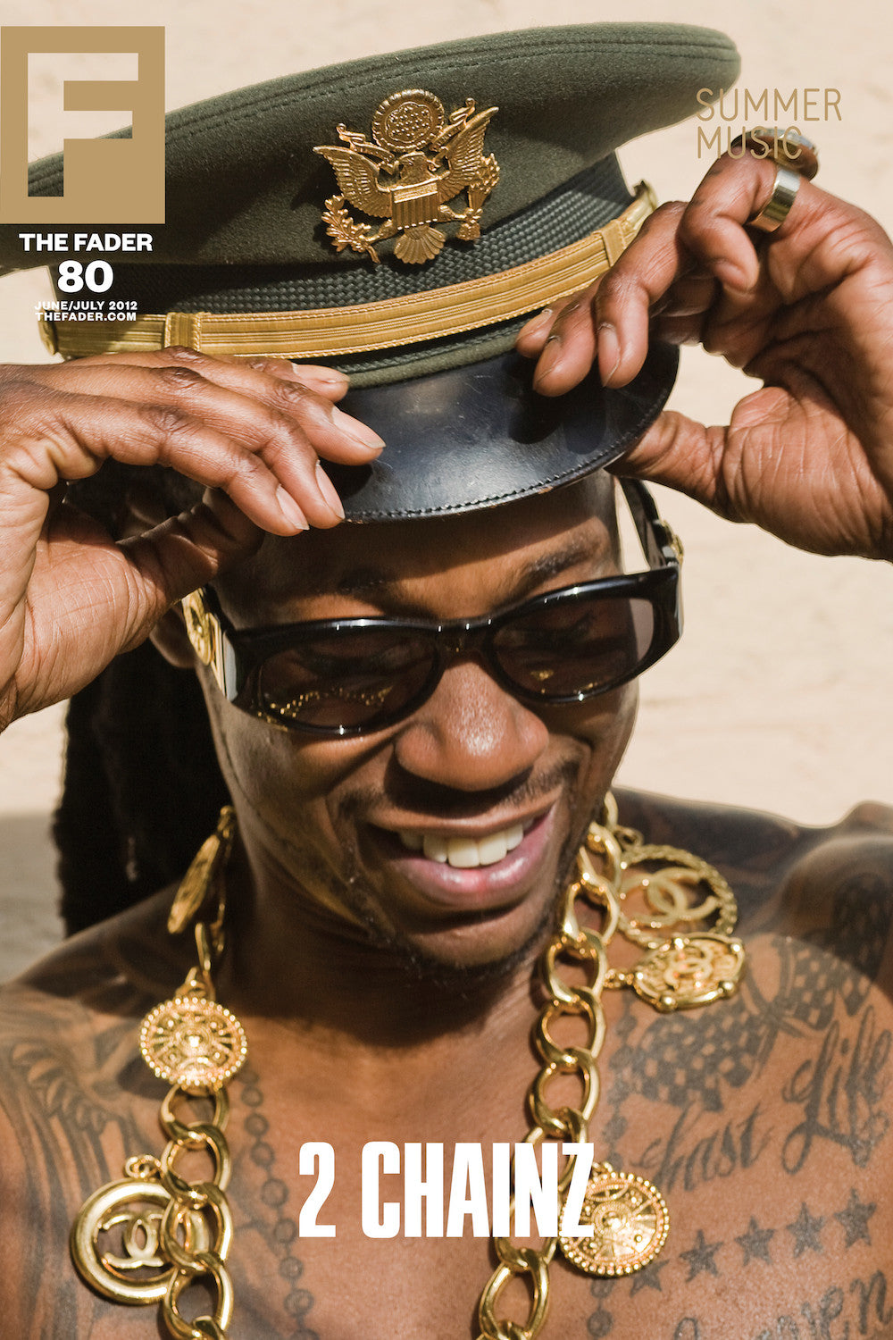 "2 Chainz / The FADER Issue 80 Cover 20"" x 30"" Poster"