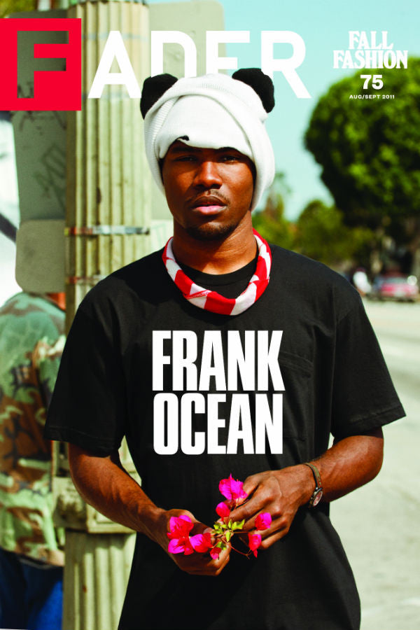 "Frank Ocean / The FADER Issue 75 Cover 20"" x 30"" Poster - The FADER"