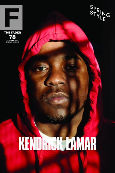 "Kendrick Lamar / The FADER Issue 78 Cover 20"" x 30"" Poster - The FADER"